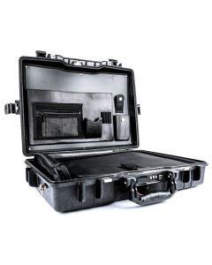 Black Peli 1495CC1 Laptop Case (Tray & Lid Organiser)
