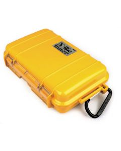 Yellow Peli 1040 Micro Case