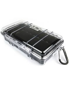 Clear & Black Peli 1060 Micro Case