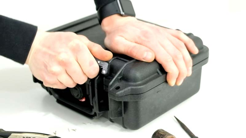 Changing a Peli Case Latch